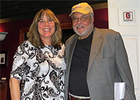 James Earl Jones and Jessica Klee